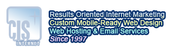 CIS Internet: Results Oriented Internet Marketing, Responsive Mobile-Ready Web Sites
